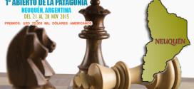 Neuquen, Arg.- 1º Abierto de la Patagonia, 21 al 28 nov 2015