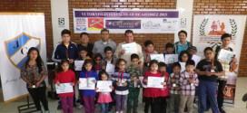 Arequipa, Per.- Foto y Resultados del VI Torneo Inter Escolar de Ajedrez 2015