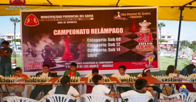 Santa, Per.- Municipalidad del Santa realizó campeonato de ajedrez para encontrar nuevos talentos