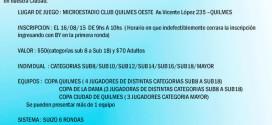 BsAs, Arg.- COPA QUILMES ANIVERSARIO 2015, 16 ago