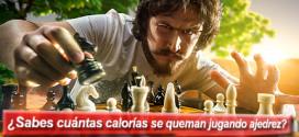 ¿Sabes cuántas calorías se queman jugando ajedrez?
