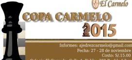 Lima, Per.- Copa Carmelo 2015, 27 y 28 nov