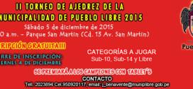 Lima, Per.- II Torneo de Ajedrez de Pueblo Libre 2015, 5 dic 2015