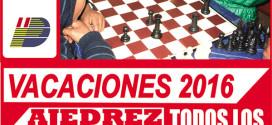 Pasco, Per.- Vacaciones útiles ajedrez 2016