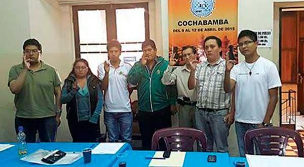Alan Borda es presidente de la Federación Boliviana de Ajedrez