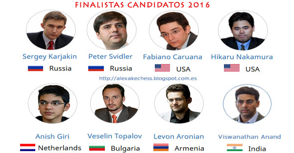 Torneo de Candidatos 2016 en vivo!