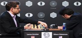 Aronian alcanza a Karjakin en el liderato