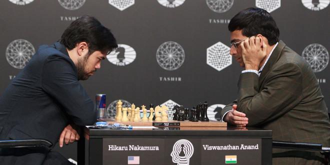 Anand pierde y Karjakin gana y comparte el liderato con Caruana