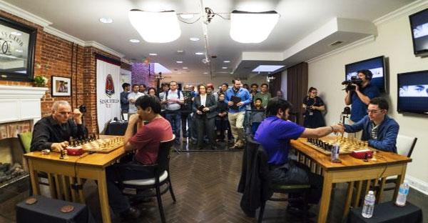 Kasparov no pudo ganar el cuadrangular en los EEUU