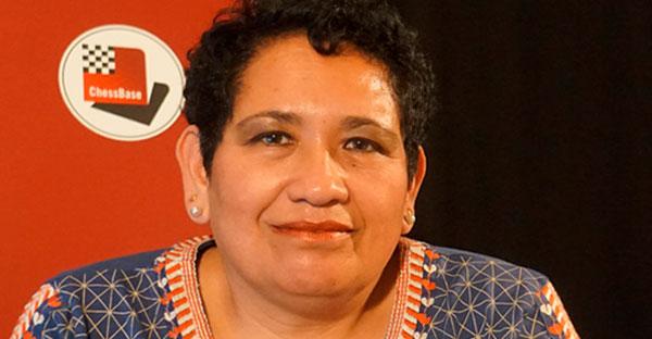 Perú.- ChessBase recibe la visita de Patricia Claros
