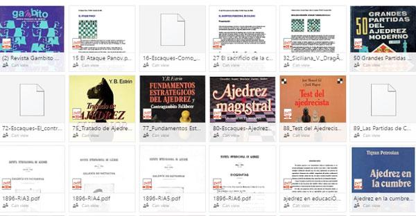 122 Libros de Ajedrez!!!