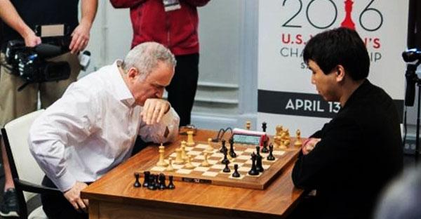 Kasparov y ese fuego sagrado: a 11 años de su retiro mostró su vigencia ante los mejores jugadores de EE.UU