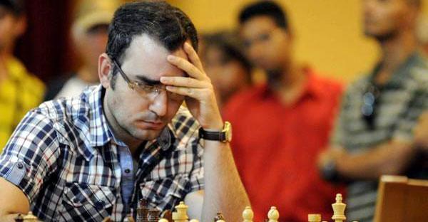 Leinier Domínguez entabla en Liga rusa de ajedrez
