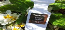 Tom Ford Soleil Blanc, un perfume con forma de torre de ajedrez de una sofisticación seductora