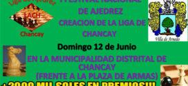 Chancay, Lima, Per.-  I FESTIVAL NACIONAL DE AJEDREZ, 12 jun 2016