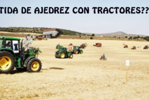 España.- Un pueblo de Guadalajara disputará una partida de ajedrez gigante con tractores
