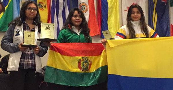 Bolivia.- Nataly Monroy campeona Panamericana de ajedrez Sub-18 Femenino