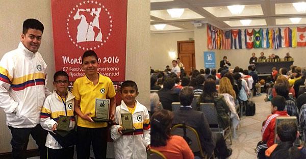 Colombia.- Ajedrecistas de Palmira se destacaron en Panamericano de Uruguay