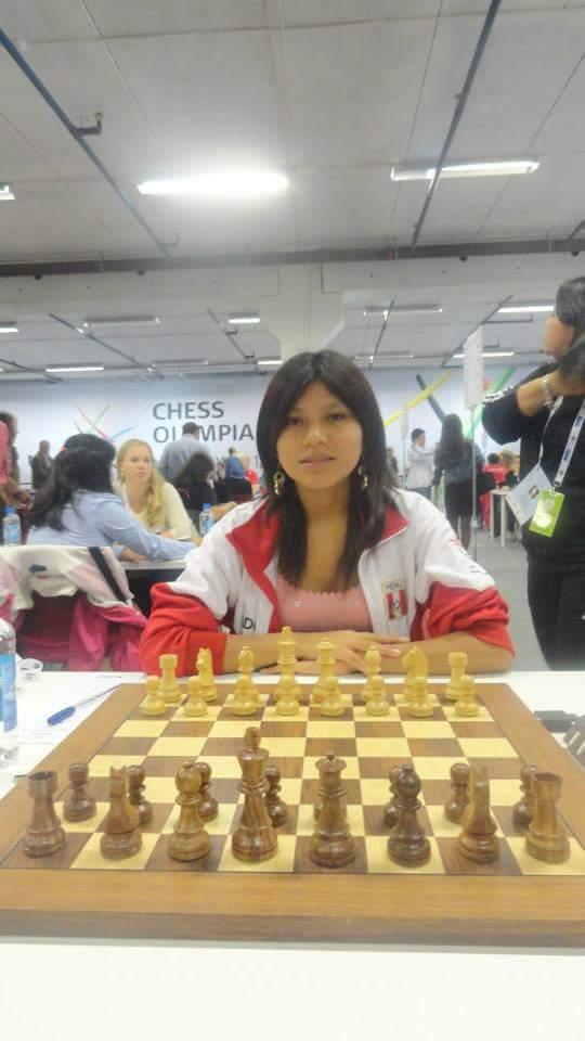GMF Deysi Cori, la única gran maestro femenino que tiene el Perú.