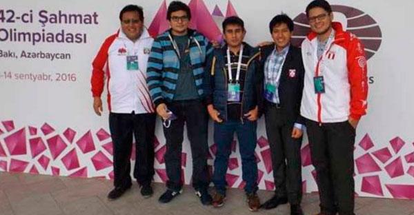 IPD premia a equipo peruano de Ajedrez