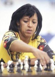 DEPORTES/ CAMPEONATO C.A. DE AJEDREZ/Zirka Frometa Castillo de 44 años campeona del Championship Panamerican Women 2008.12052008. FOTO DE LA PRENSA/AARON GANZ. ------ 3 col., color