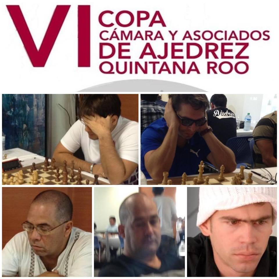 Con la participación de 5 Grandes Maestros y 7 Maestros Internacionales se desarrolla la VI Copa de Ajedrez Quintana Roo