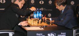 Tercera partida: Carlsen aprieta siete horas, pero no rompe el muro