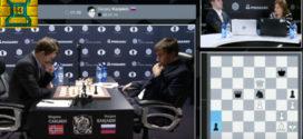 La derrota de Carlsen en imágenes + video: Mundial de Ajedrez 8va partida