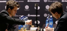 Carlsen y Karjakin empatan en la última partida por el Mundial de Ajedrez