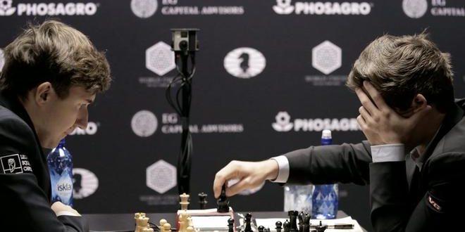 Carlsen y Karjakin firman tablas también en la segunda partida