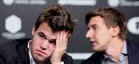 Carlsen y Karjakin firman tablas en la sexta partida del Mundial