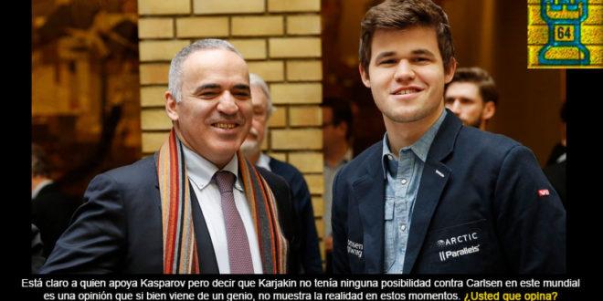 Sergey Karjakin la esperanza de Putin, al que Kasparov desprecia