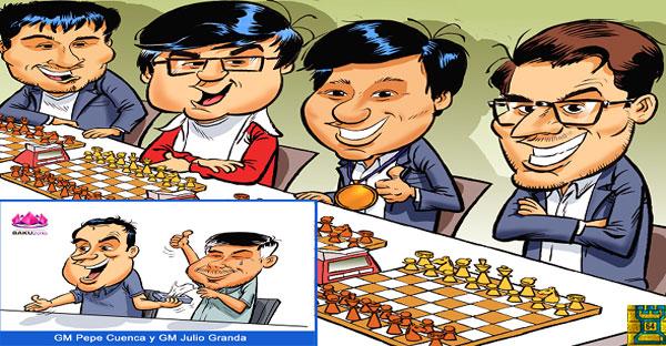 Ajedrez Mundial: Carlsen, EE.UU., China, Perú y Domínguez