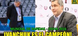 Ivanchuk, gana el Mundial de Rápidas en Qatar