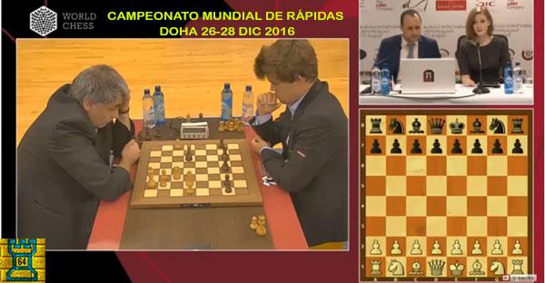Ivanchuk esta vez fue el verdugo de Carlsen