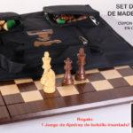Set de ajedrez de madera Heirloom + Cupón de Descuento en Chesshouse