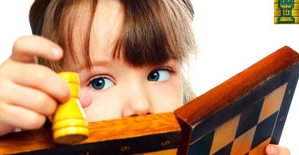 ¿Cómo enseñar a jugar al ajedrez a niños de 3 a 5 años?