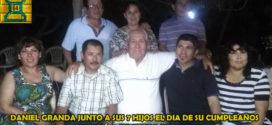 Camaná, Per.- El reencuentro entre Julio Granda y su padre el día de su cumpleaños