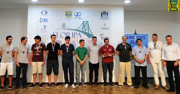 Paraguayo Bachmann, flamante campeón en Floripa, Brasil