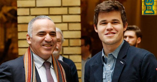 Magnus Carlsen, el heredero de Kasparov