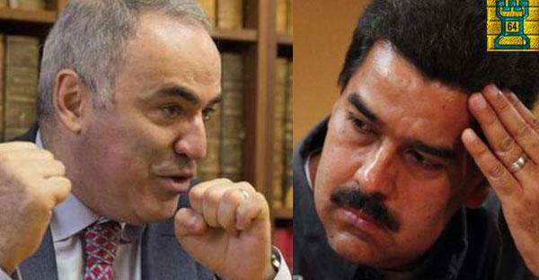 El ajedrez de Nicolás Maduro supera a Garry Kasparov