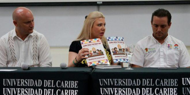 Susan Polgar en Cancún, México
