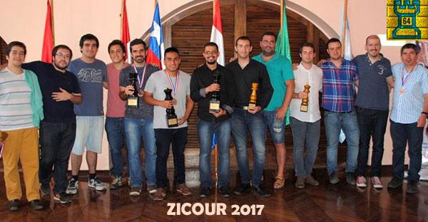 El GM Neuris Delgado gana el Zicosur 2017 en Antofagasta, Chile