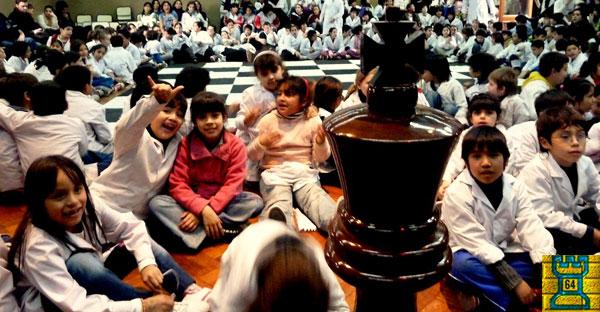 Argentina.- Ajedrez escolar y formación docente
