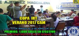 Lima, Per.-  COPA IRT VERANO 2017 CAM, del 17 de marzo al 2 de abril