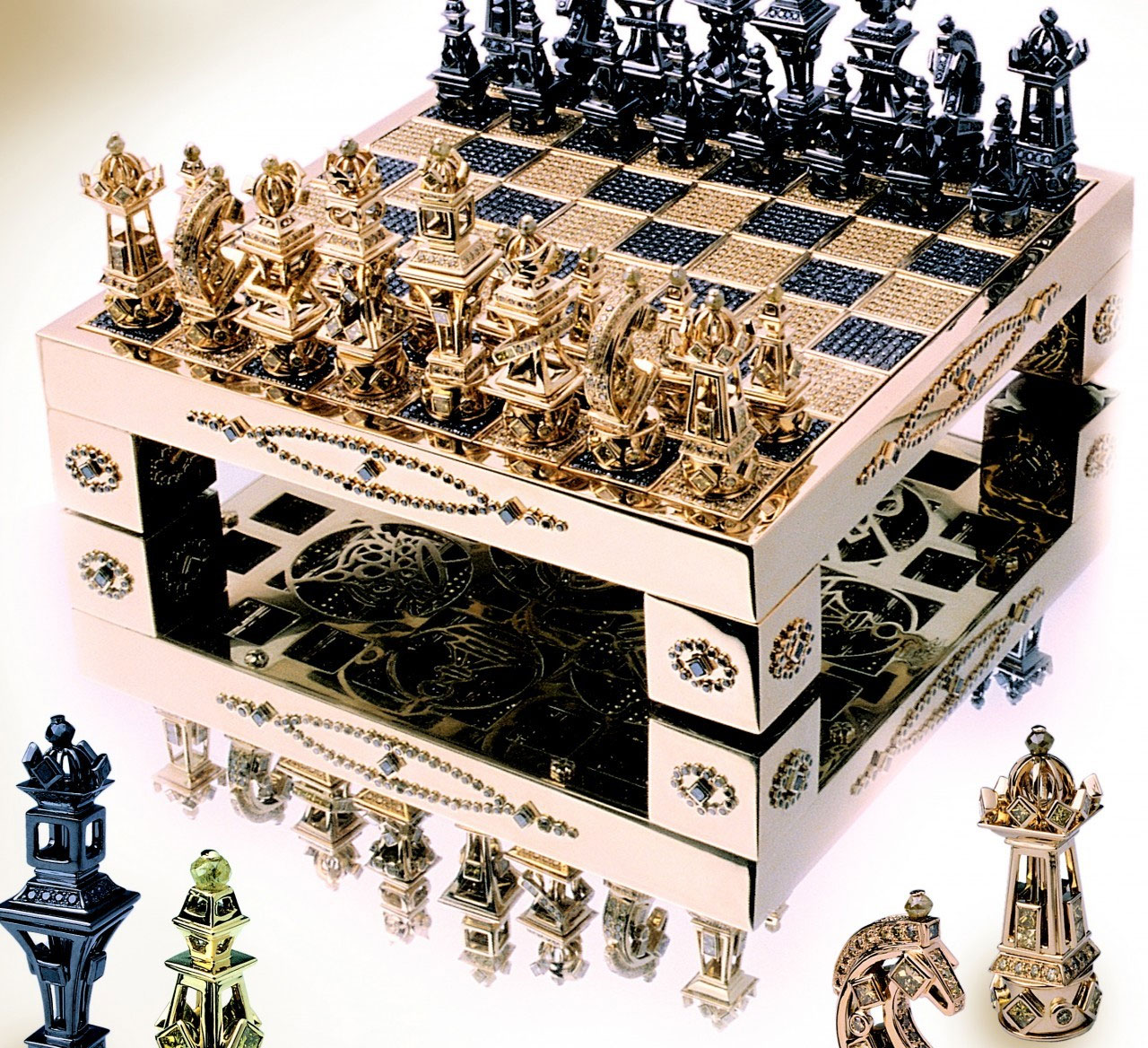 Lord Of The Rings Coffee Table Chessboard