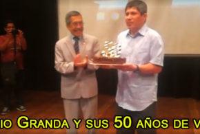 Julio Granda y sus 50 años de vida