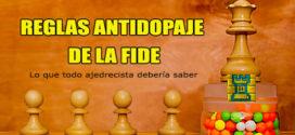Reglas Antidopaje de la FIDE 2017