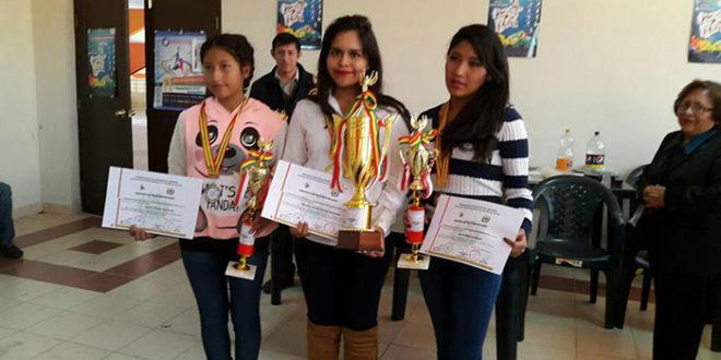 Bolivia (Video).- Nataly Monroy Campeona Torneo Nacional de Ajedrez Categoría Sub20 (Femenino)