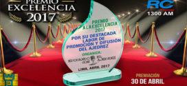 Perú.- PREMIO EXCELENCIA 2017 – Ajedrez
